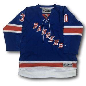REEBOK New York Rangers HENRIK LUNDQVIST Jersey
